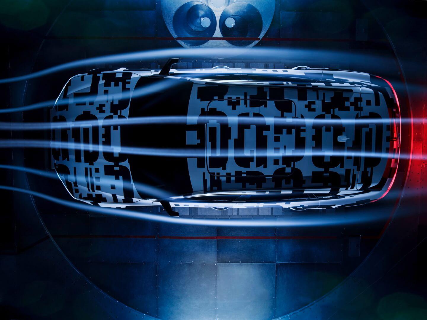 Аэродинамические характеристики Audi e-tron Quattro
