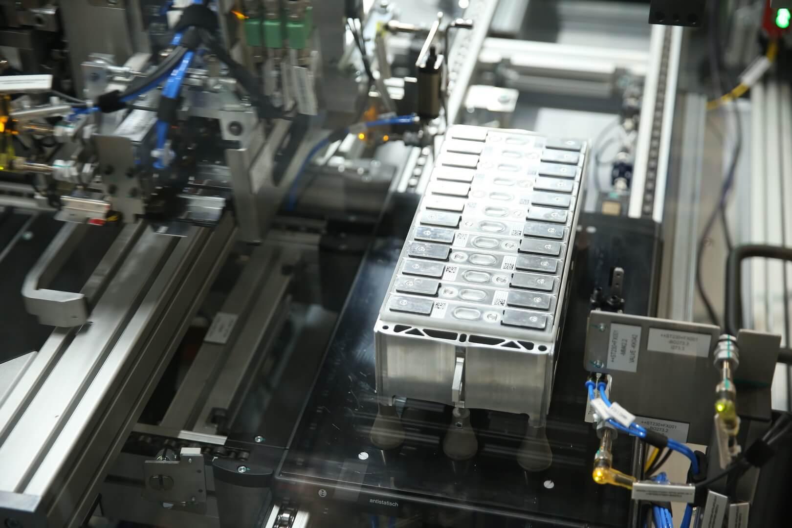 Производство батарей для электромобилей