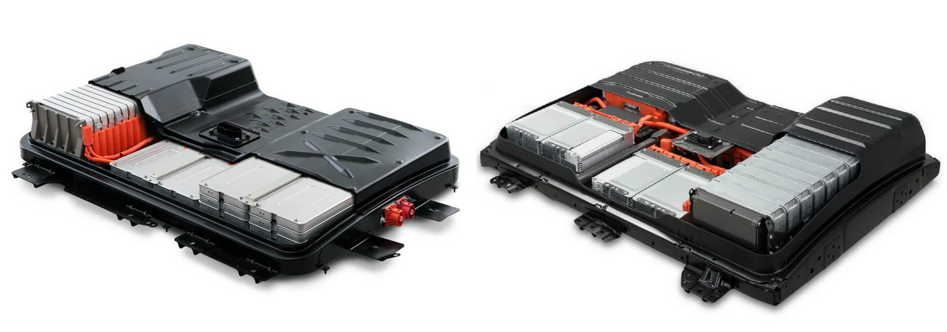 Батареи Nissan Leaf