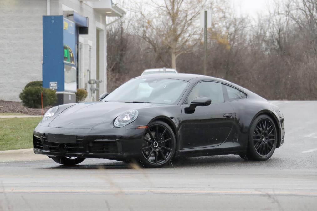 Новый гибридный Porsche 911