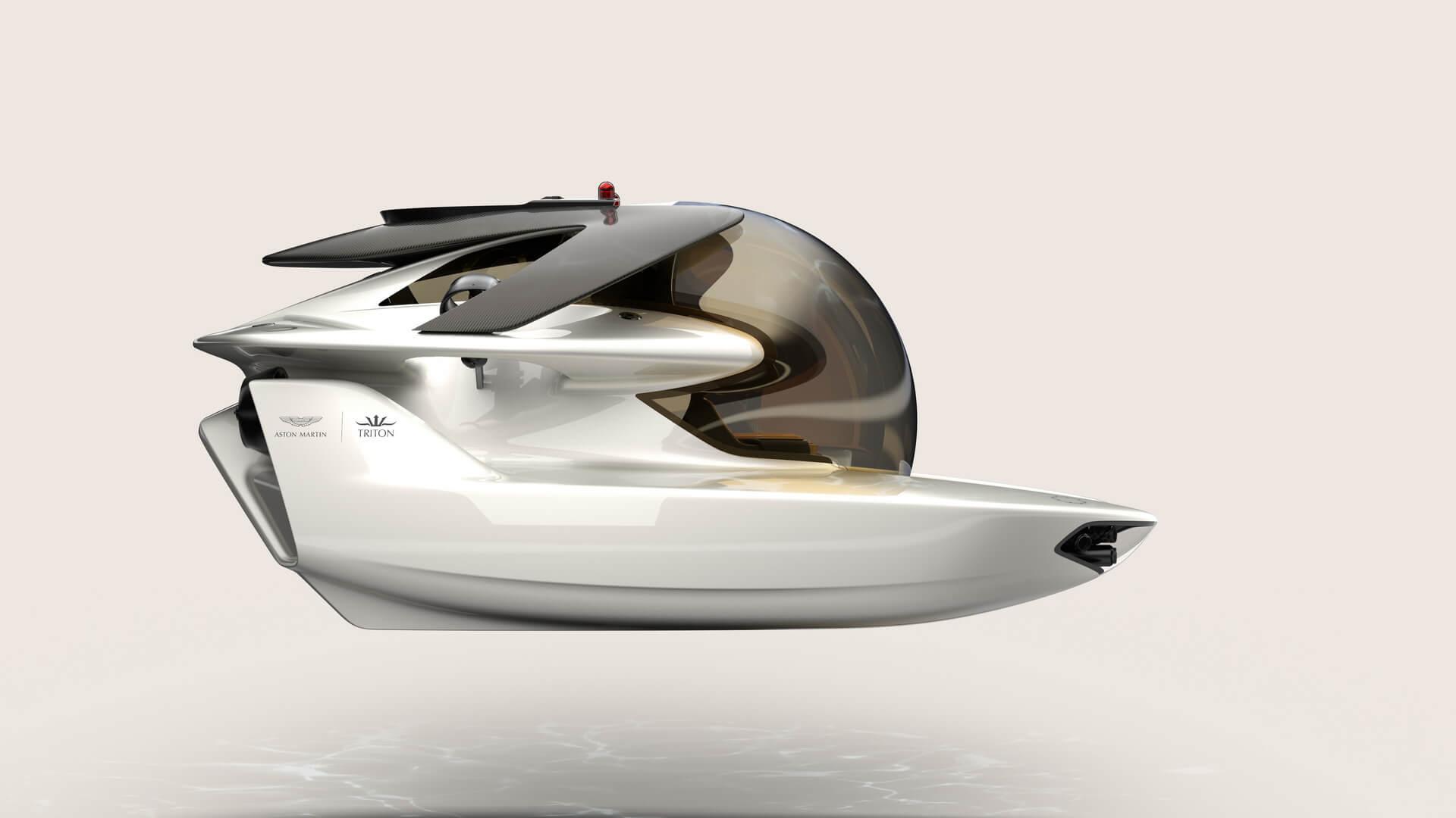 Электрическая подводная субмарина Project Neptune