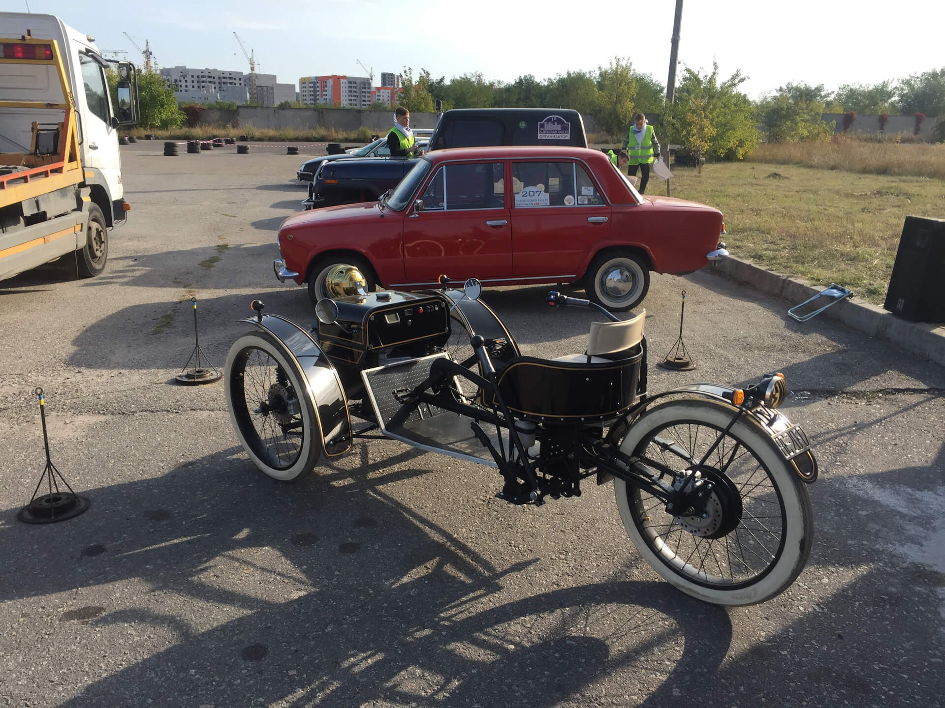 Реплика Morgan 3 Wheeler
