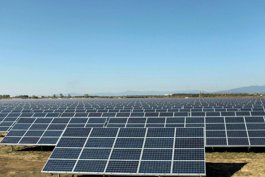 Солнечная электростанция в Херсонской области