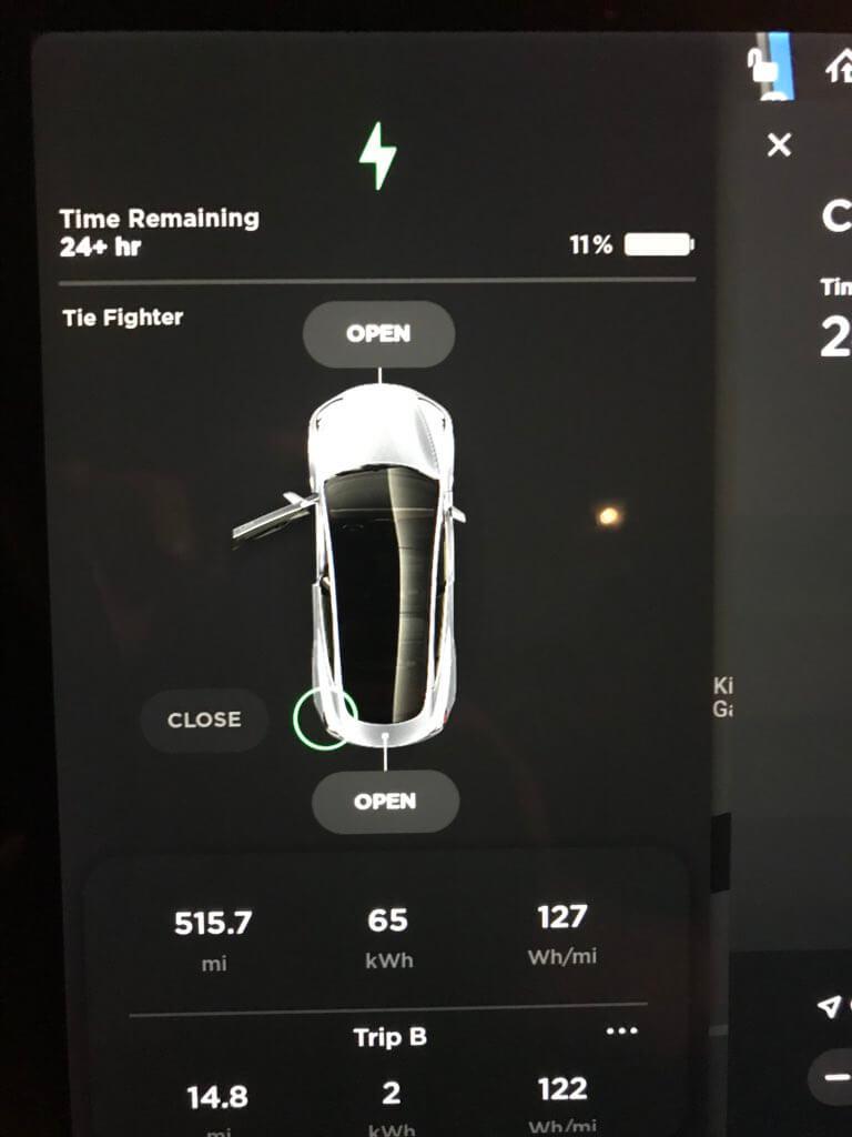 830 километров (515,7 миль) прошла Tesla Model 3 на одном заряде