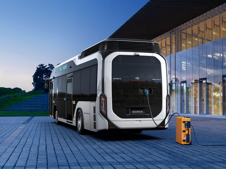 Аварийная система электропитания водородного автобуса Sora