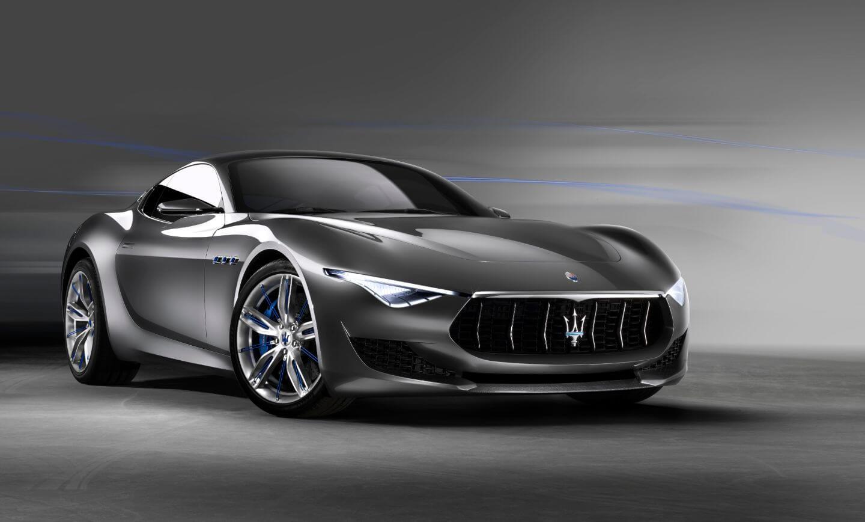 Концепт электрокара Maserati Alfieri