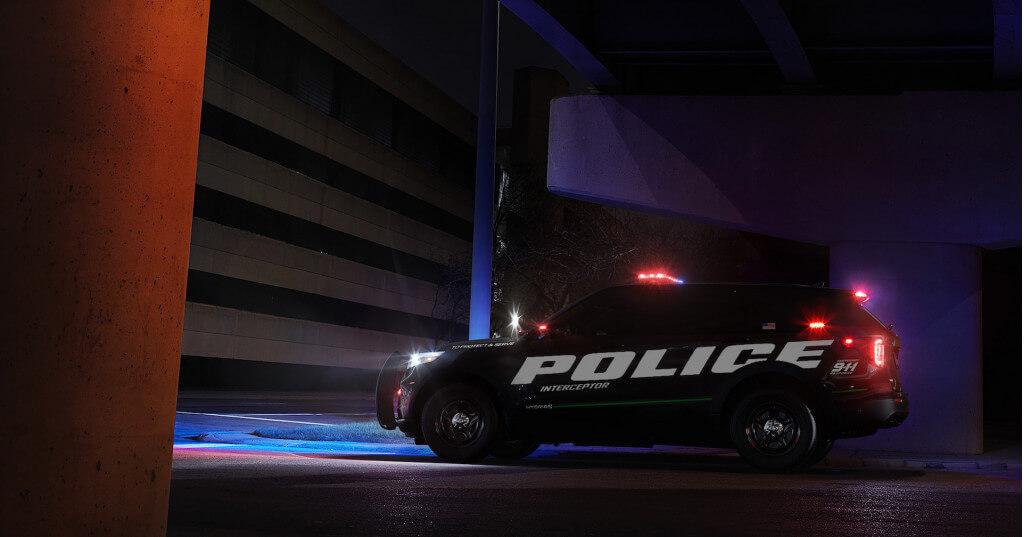 Полицейский Ford Explorer