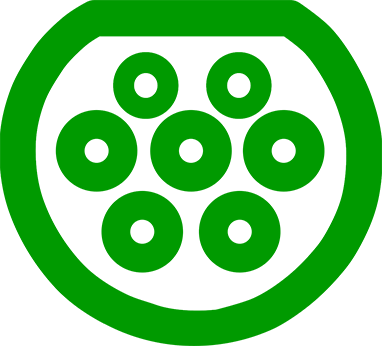 Электромобильный коннектор с разъемом GB/T 20234 переменнонго тока (AC)