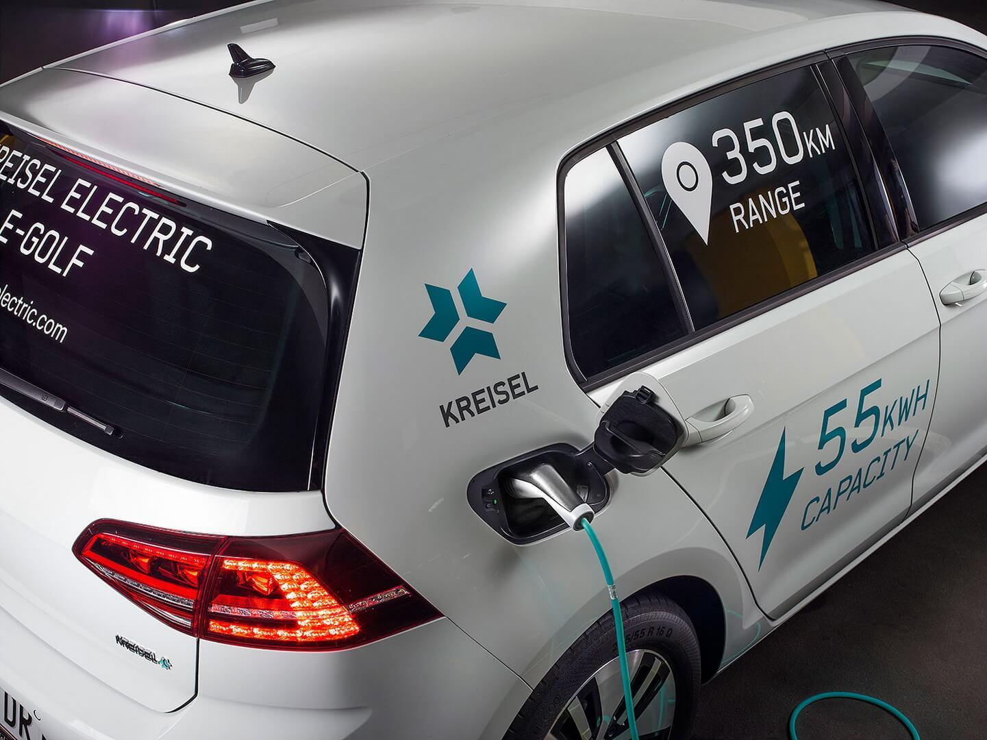 Зарядка электромобиля Kreisel Electric - Volkswagen e-Golf