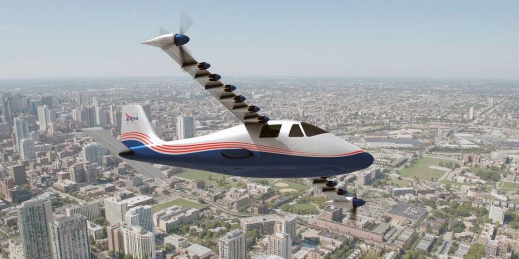 Электрический самолет NASA — X-57