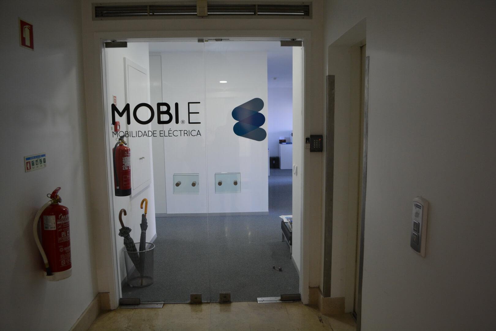 Офис сети зарядных станций MOBI.E в Португалии