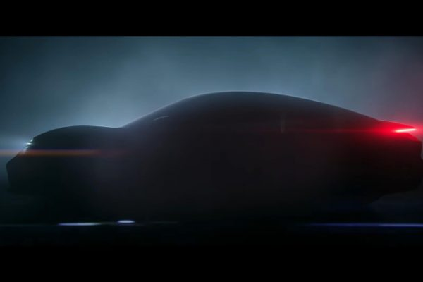 Тизер электромобиля Porsche Taycan