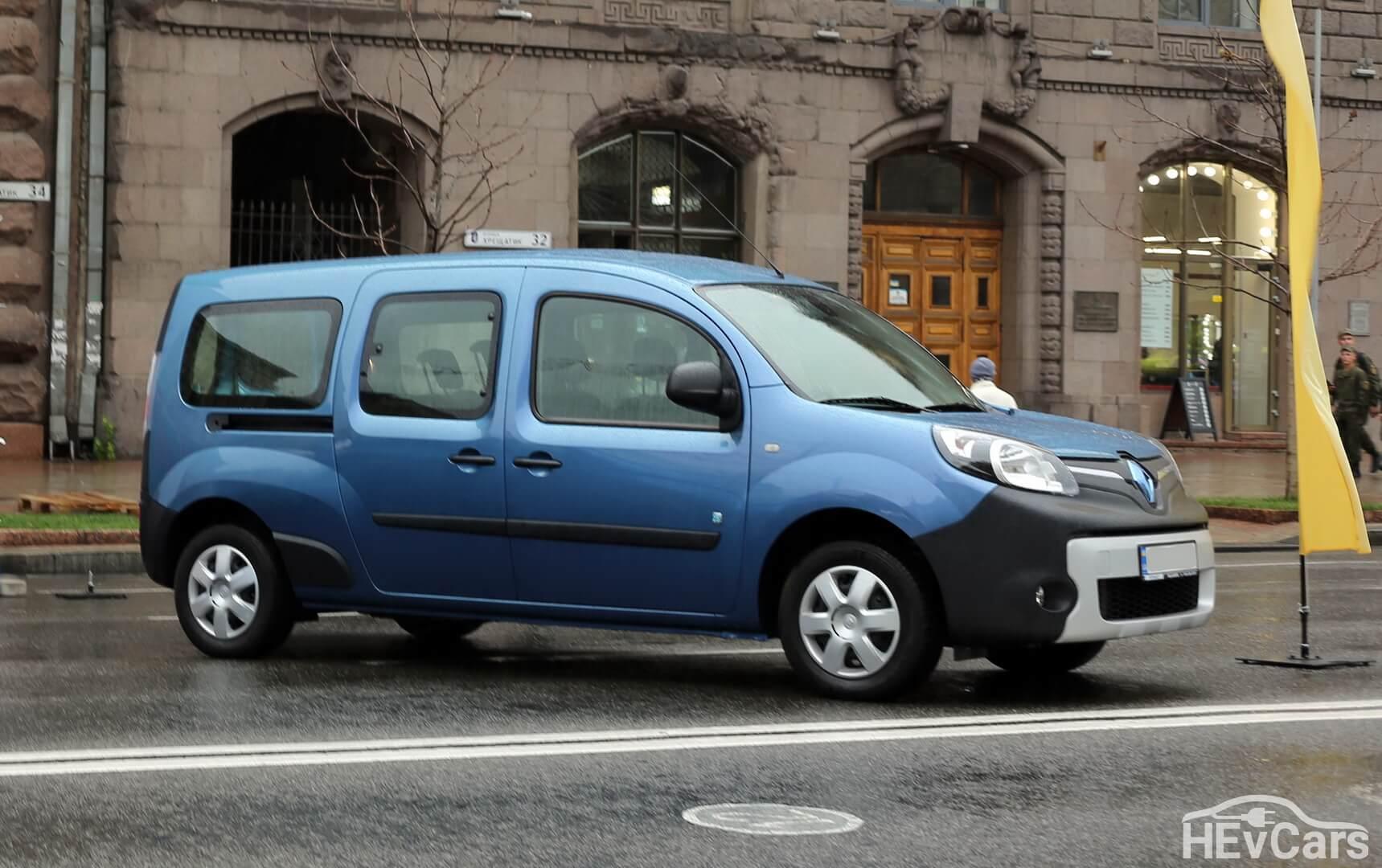 Renault Kangoo Z.E. самый популярный легкий коммерческий фургон