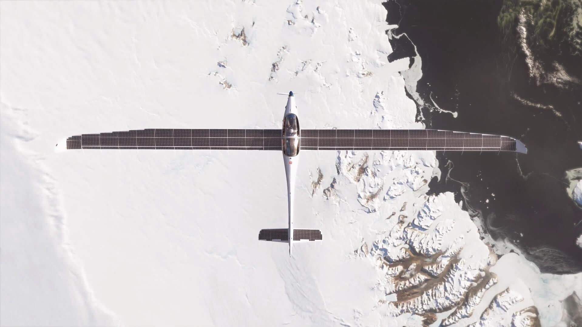 Электрический самолет SolarStratos