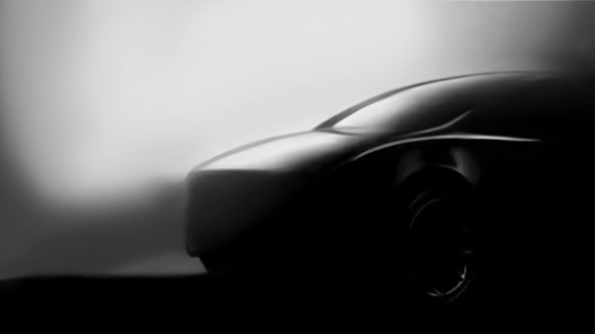 Второй тизер электрического кроссовера Tesla Model Y