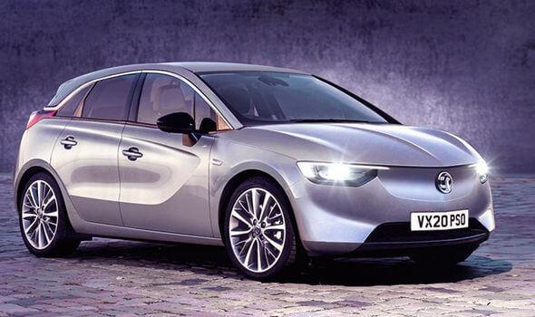 Электромобиль Vauxhall eCorsa