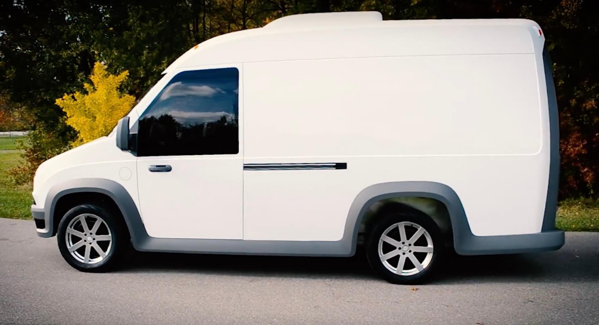 Электрический фургон Workhorse NGEN-1000