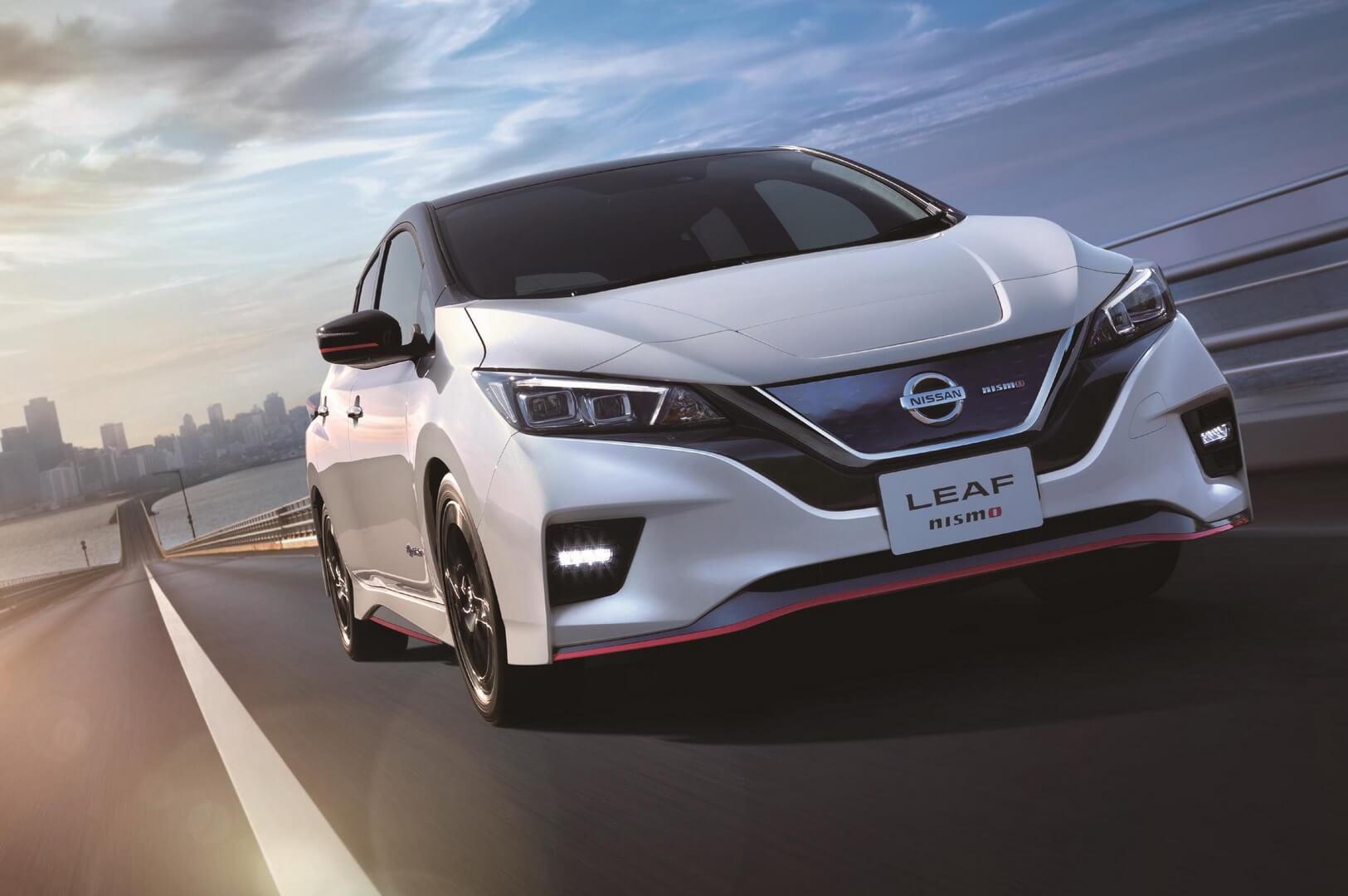 Nissan Leaf выпустил заряженную версию Nismo