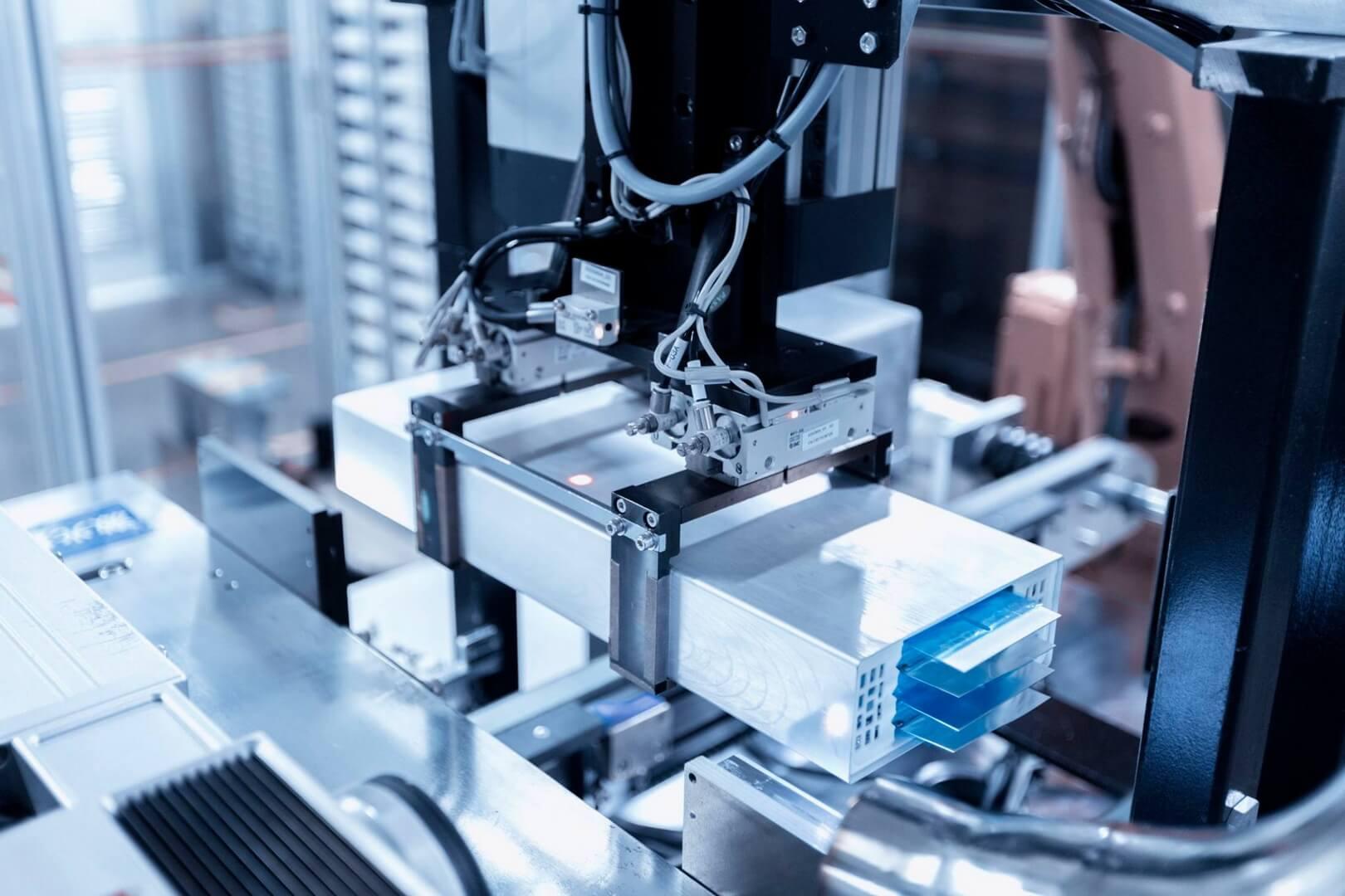 Производство батарей BYD