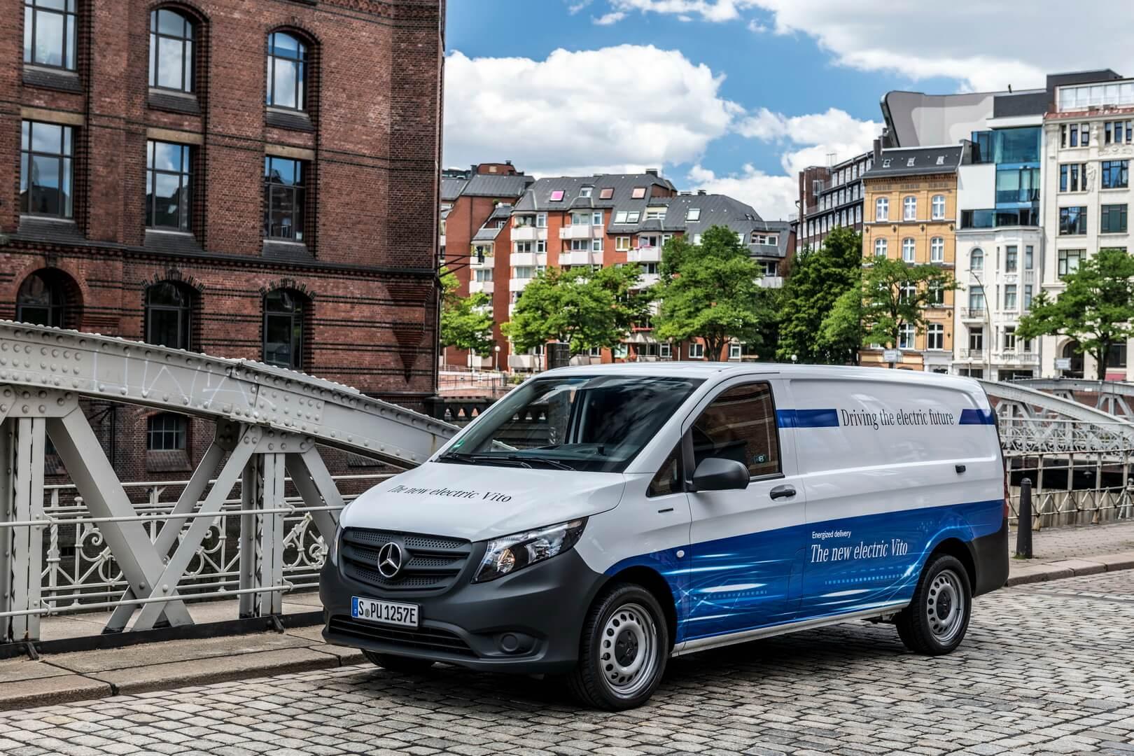 Электрофургон Mercedes-Benz eVito