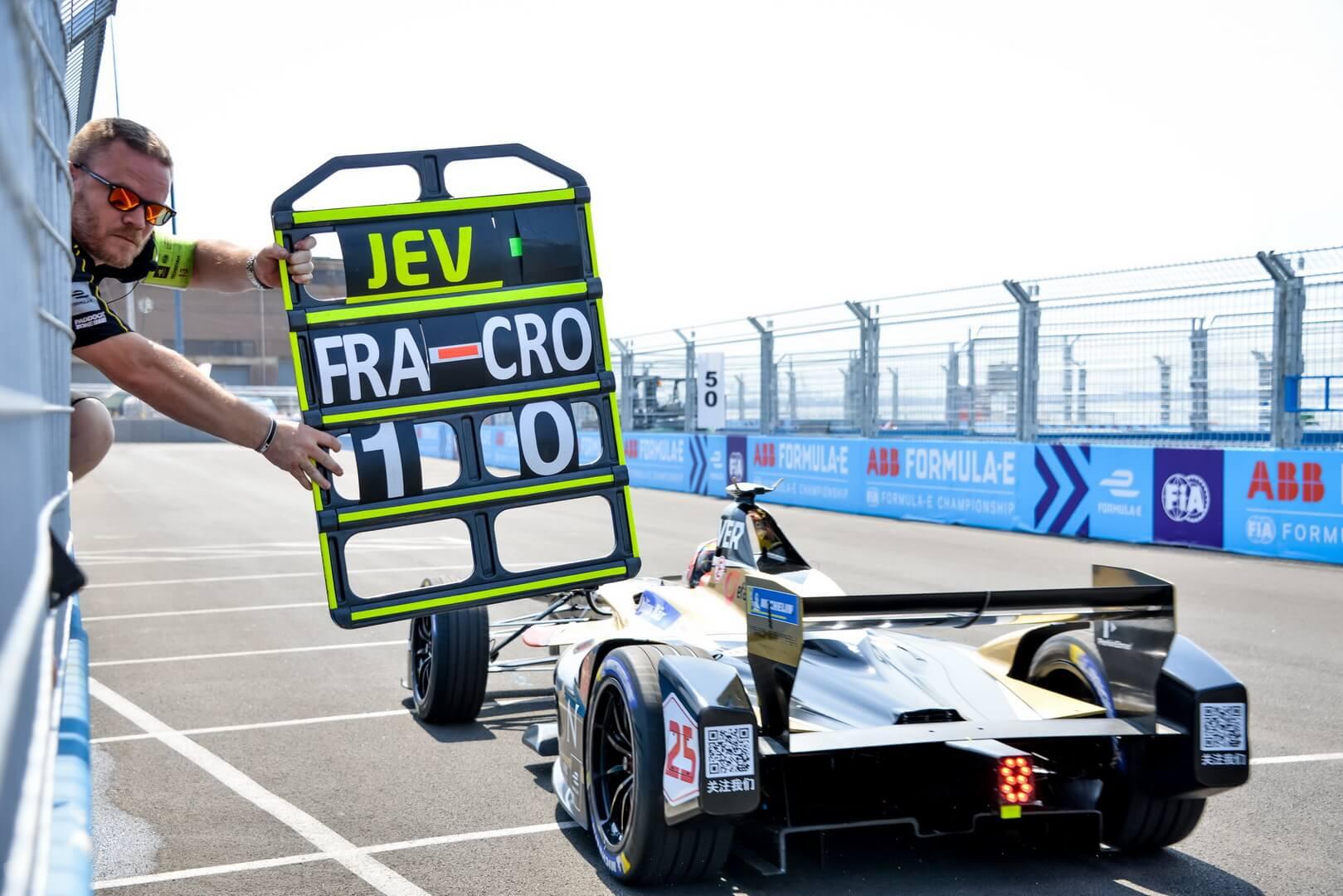 Болид Formula E финальных соревнований в Нью-Йорке
