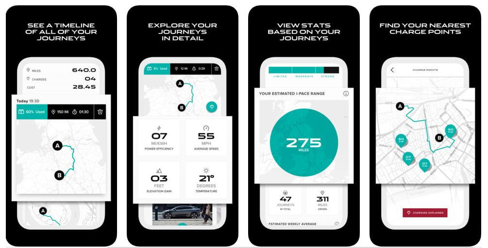 Приложение Go I-Pace от Jaguar
