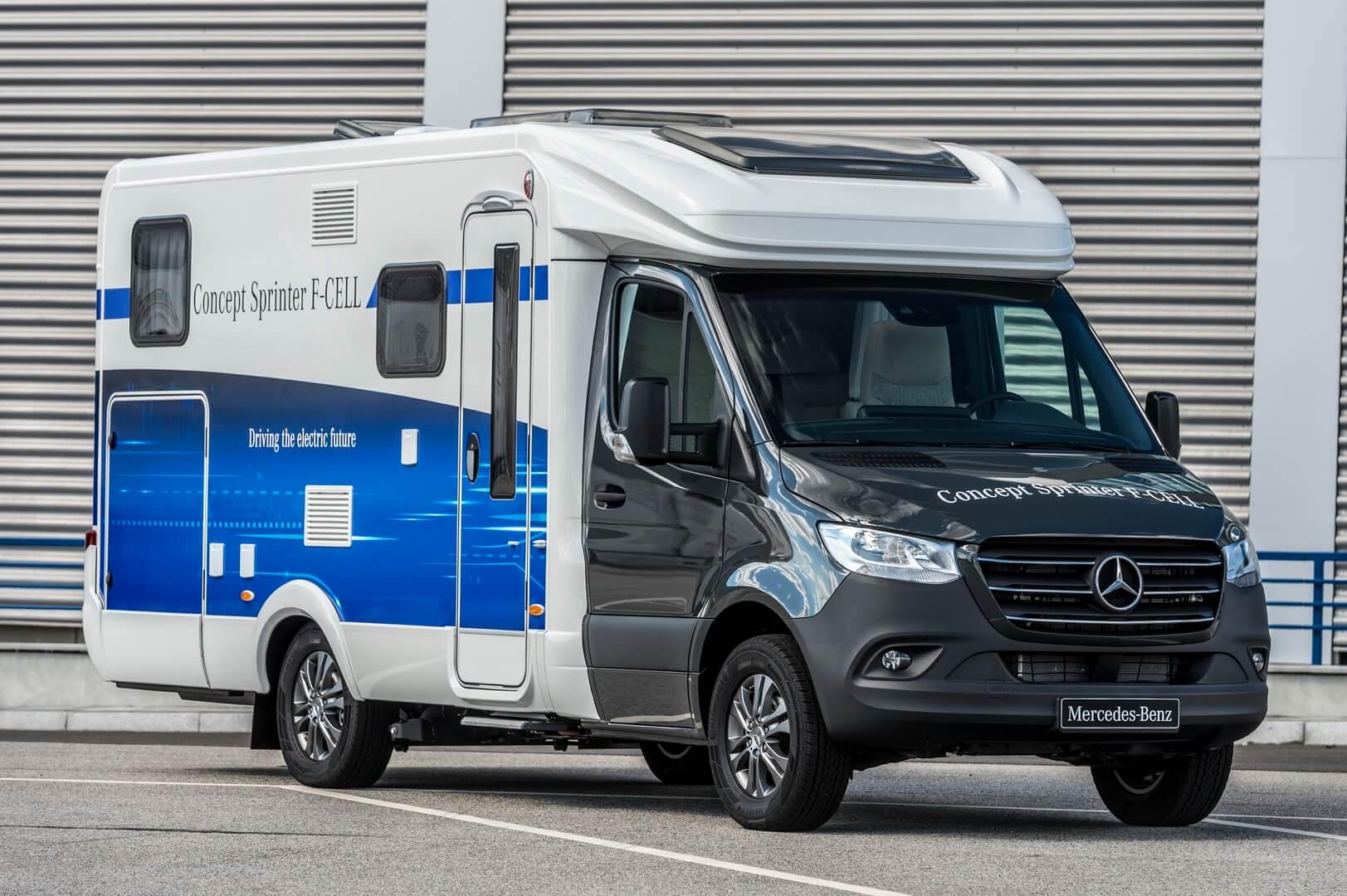 Концепт водородного фургона Mercedes-Benz Sprinter F-Cell
