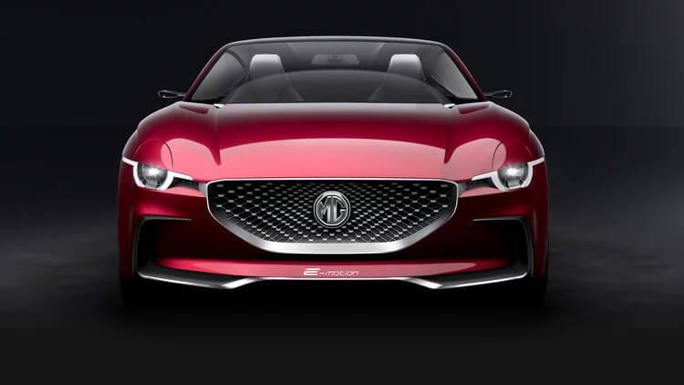 Концепт электромобиля MG E-Motion