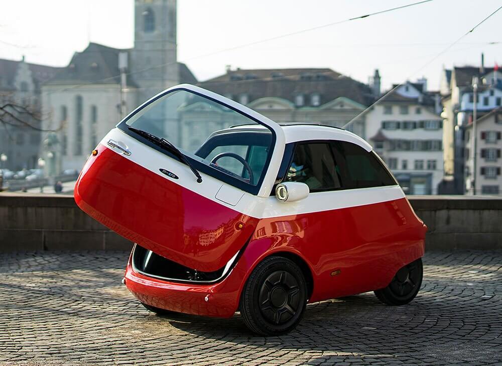 Мини электромобиль Microlino