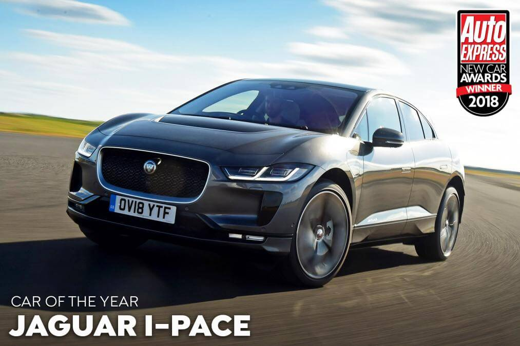 Главную награду New Car Awards 2018 получил электромобиль Jaguar I-Pace