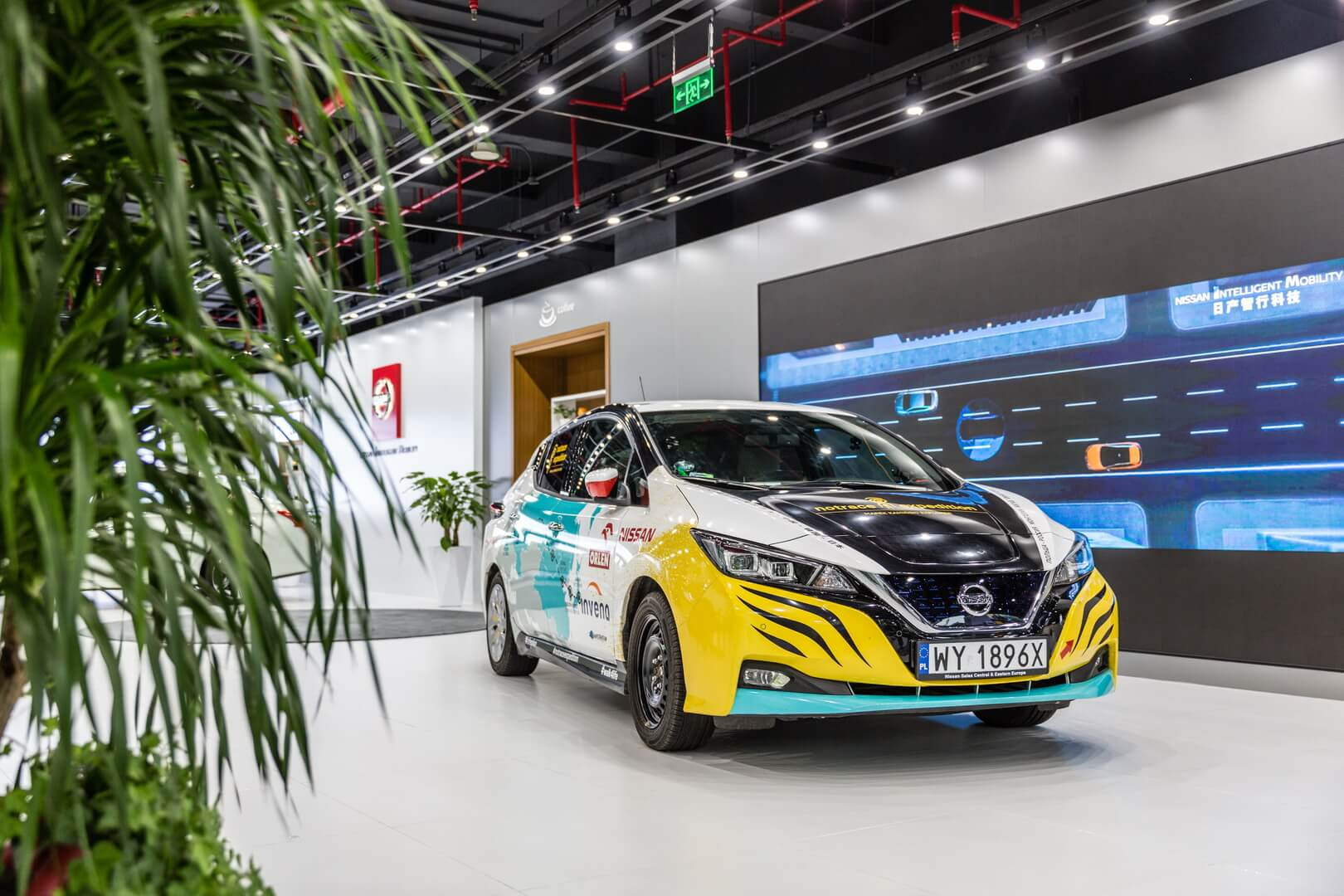 Nissan Leaf с экспедиции «NoTraceExpedition»