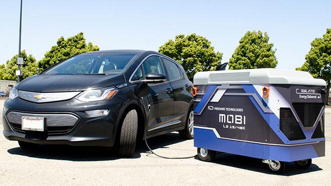 Мобильная зарядка электромобиля Chevrolet Bolt EV