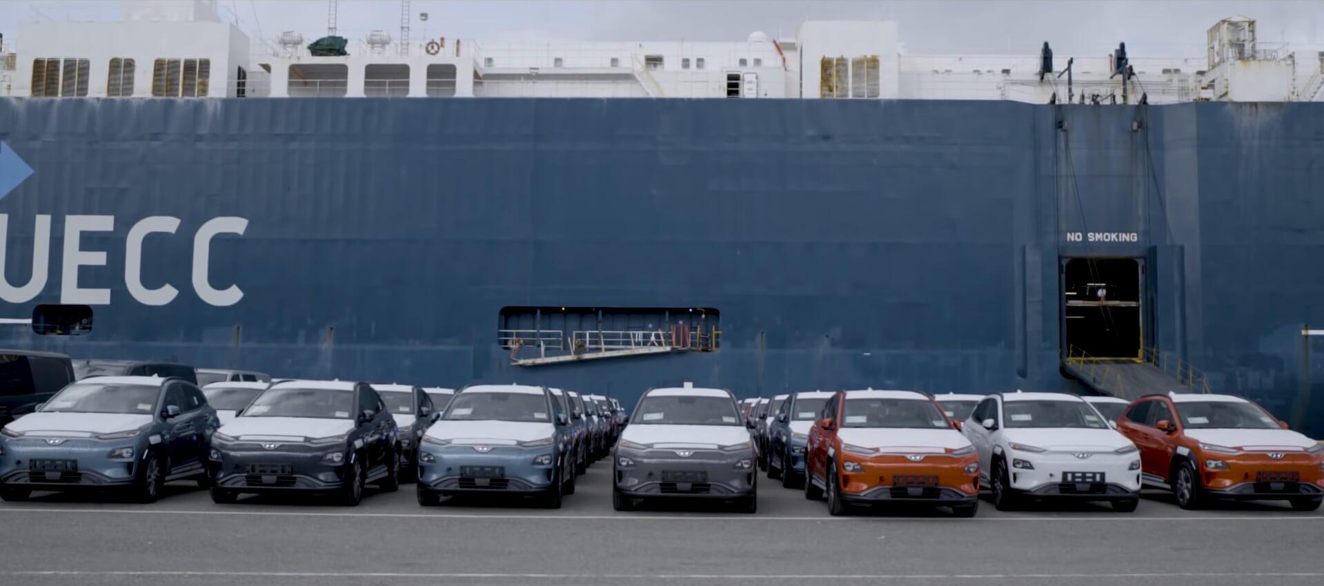 Первые вЕвропе Hyundai Kona Electric доставлены вНорвегию