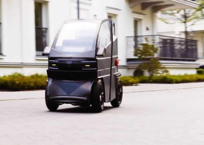 Электромобиль iEV Xможет менять размер повашему требованию