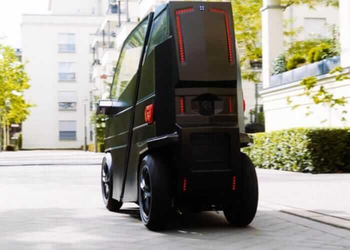 Электрический автомобиль iEVX