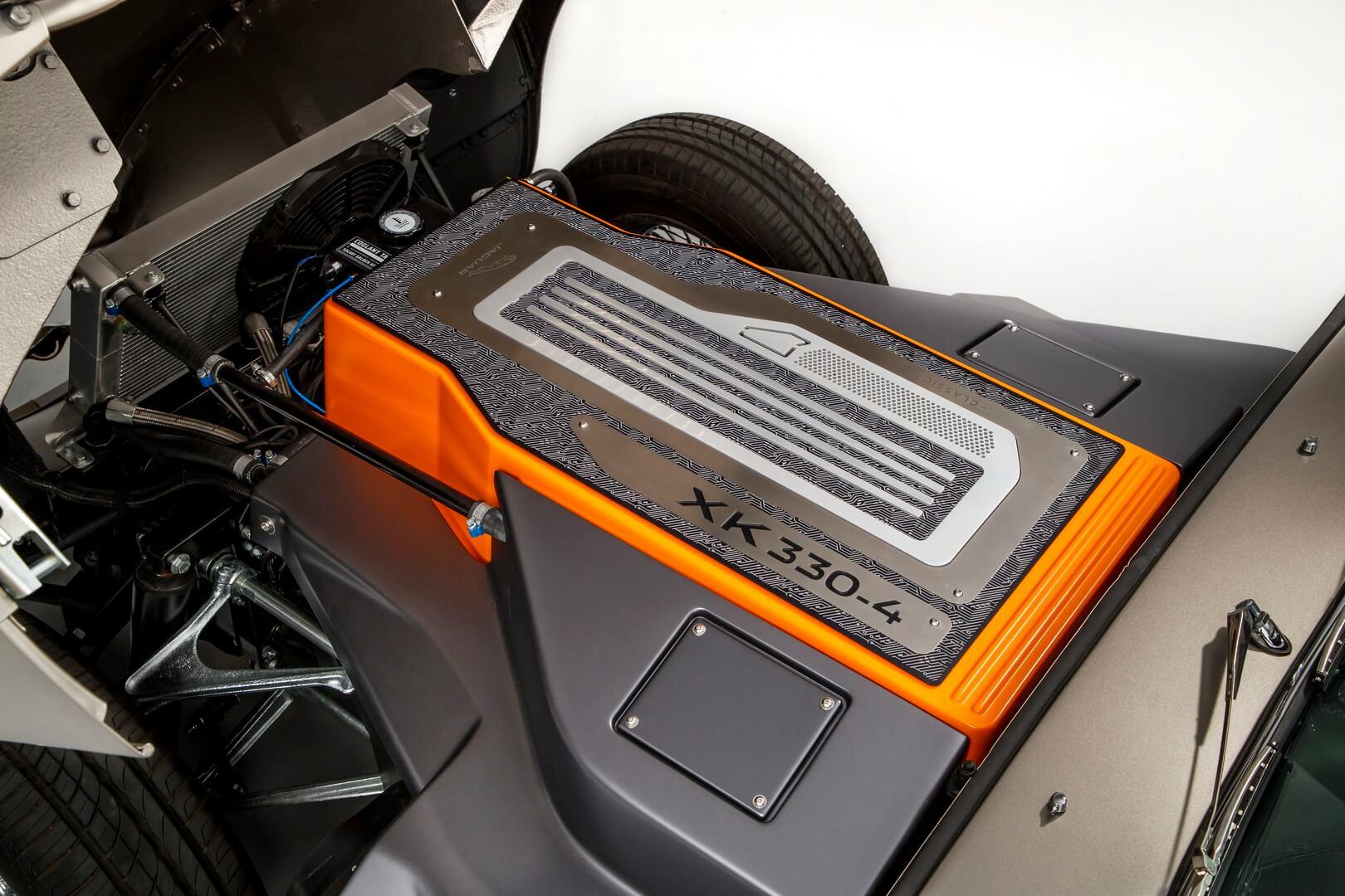 Силовая установка Jaguar E-type Zero
