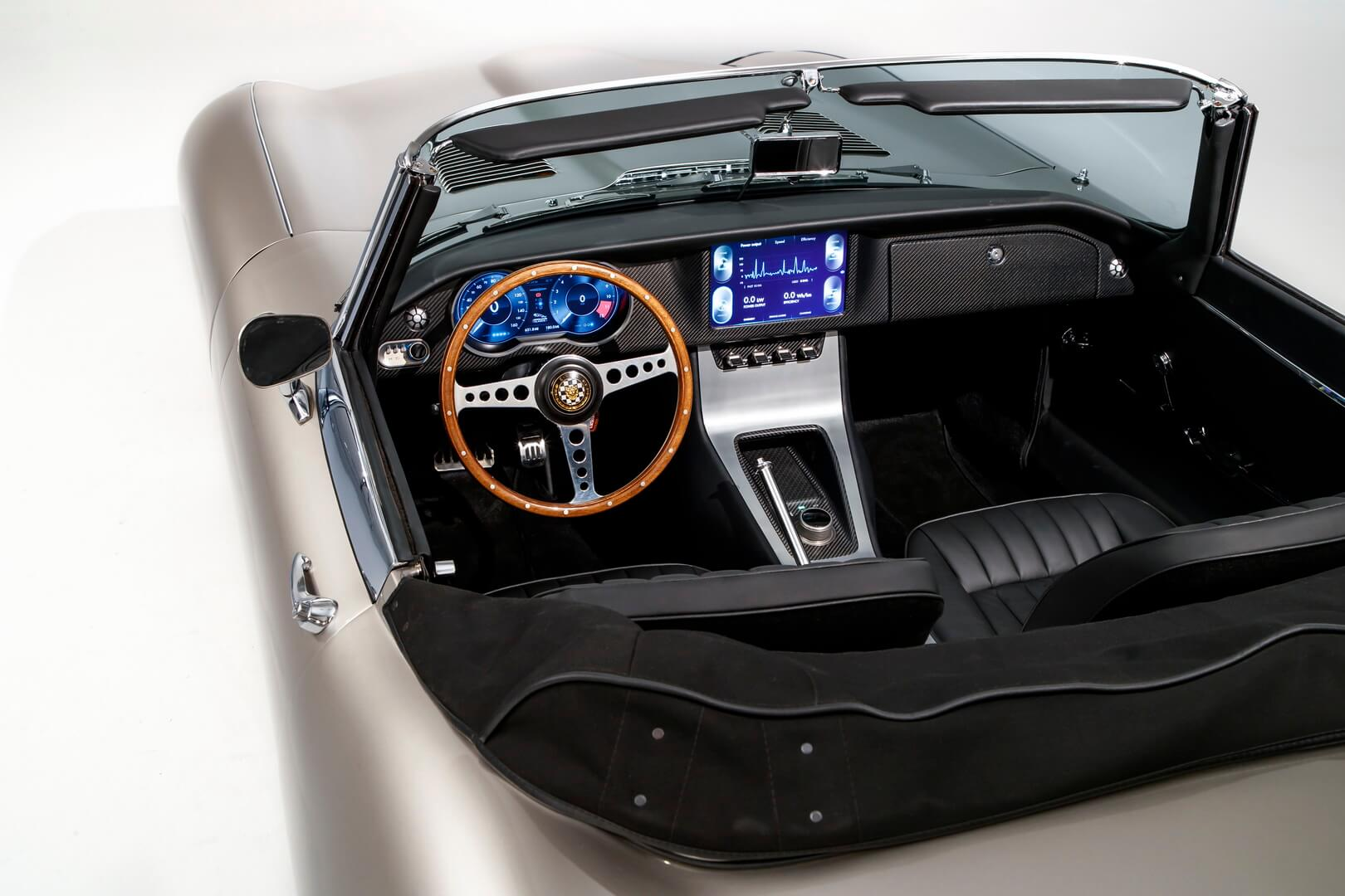 Салон Jaguar E-type Zero