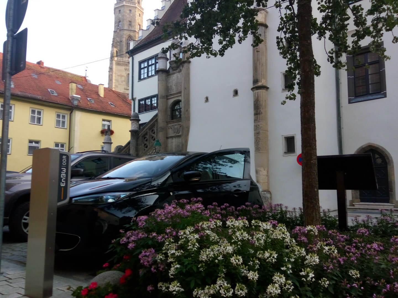 Нёрдлинген, Германия (Nördlingen), бесплатная зарядка от EnBW для муниципалитета города