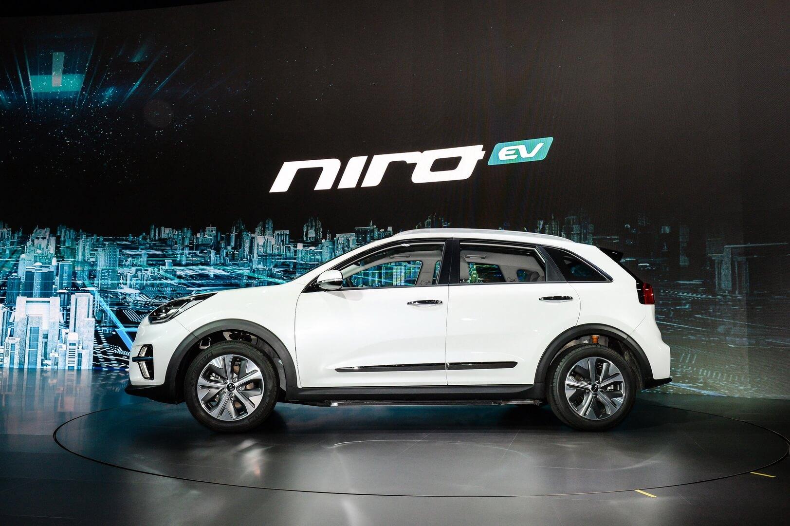 Электрический кроссовер Kia Niro EV