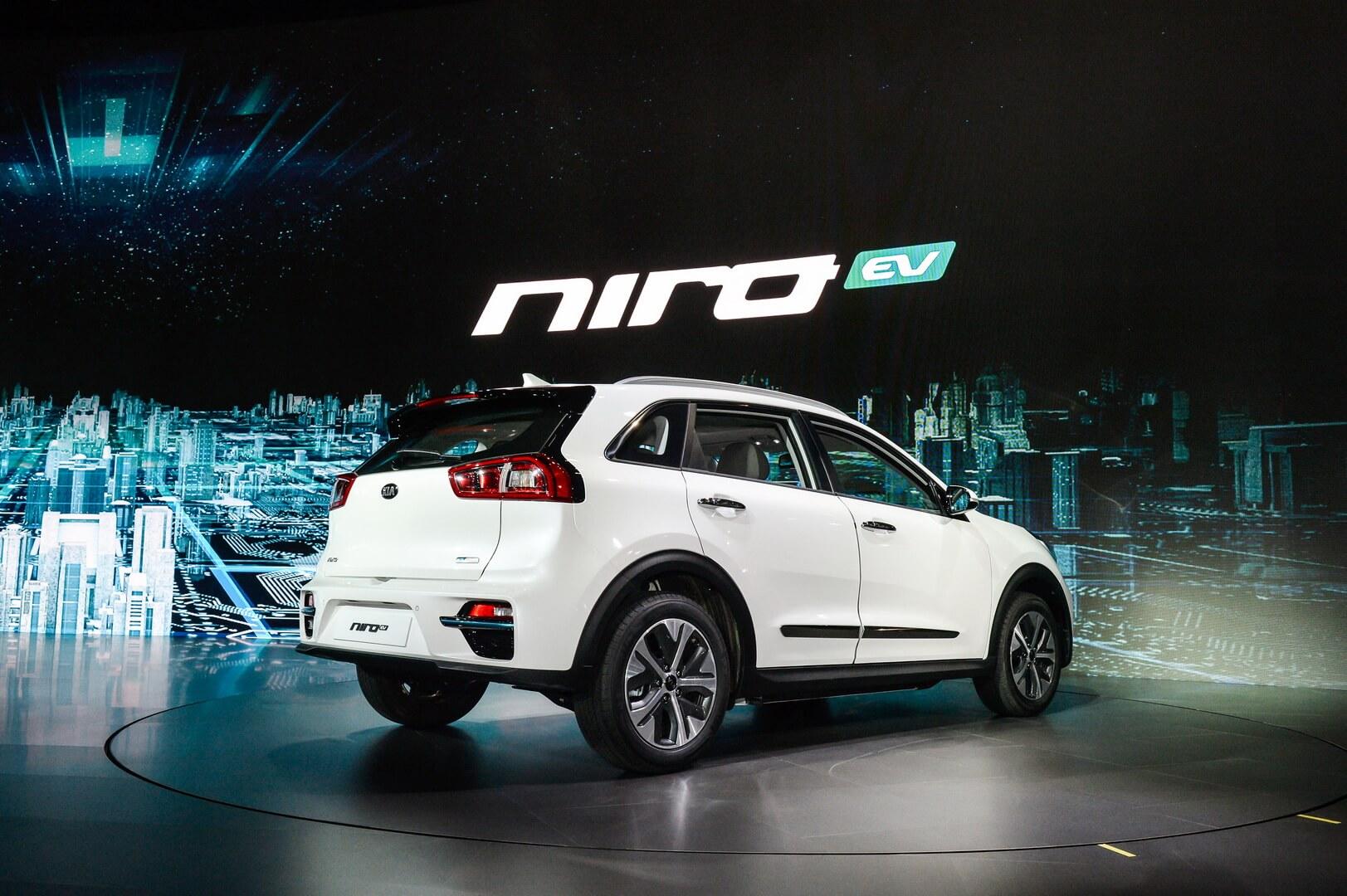 ЭлектрокроссоверKia Niro EV