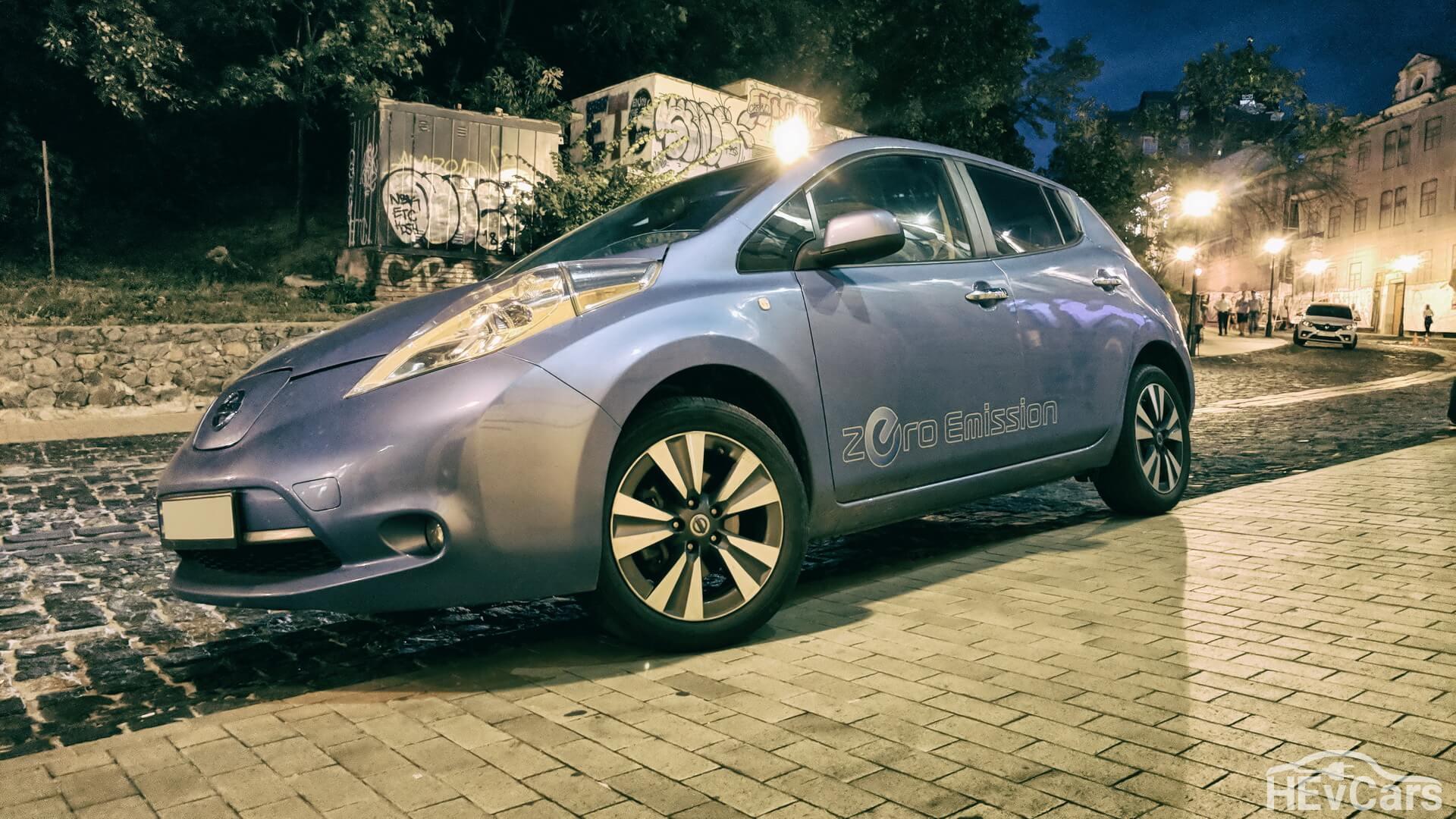 Nissan Leaf самый популярный электромобиль в Украине