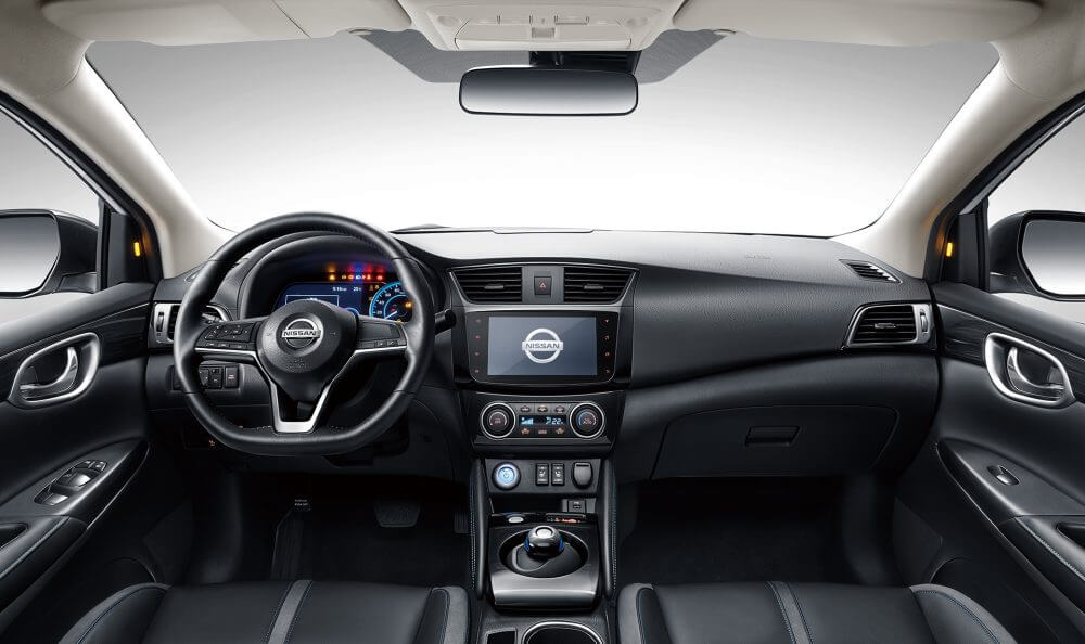 Интерьер Nissan Sylphy Zero Emission