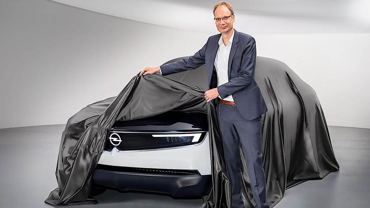 Opel анонсировал электрический концепт-кар GTXExperimental