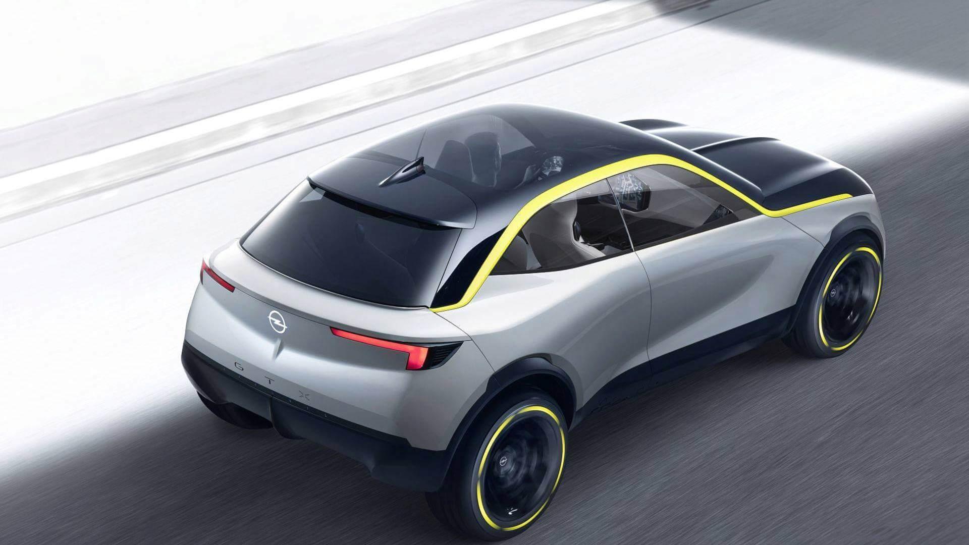 Электрический кроссовер Opel GTXExperimental