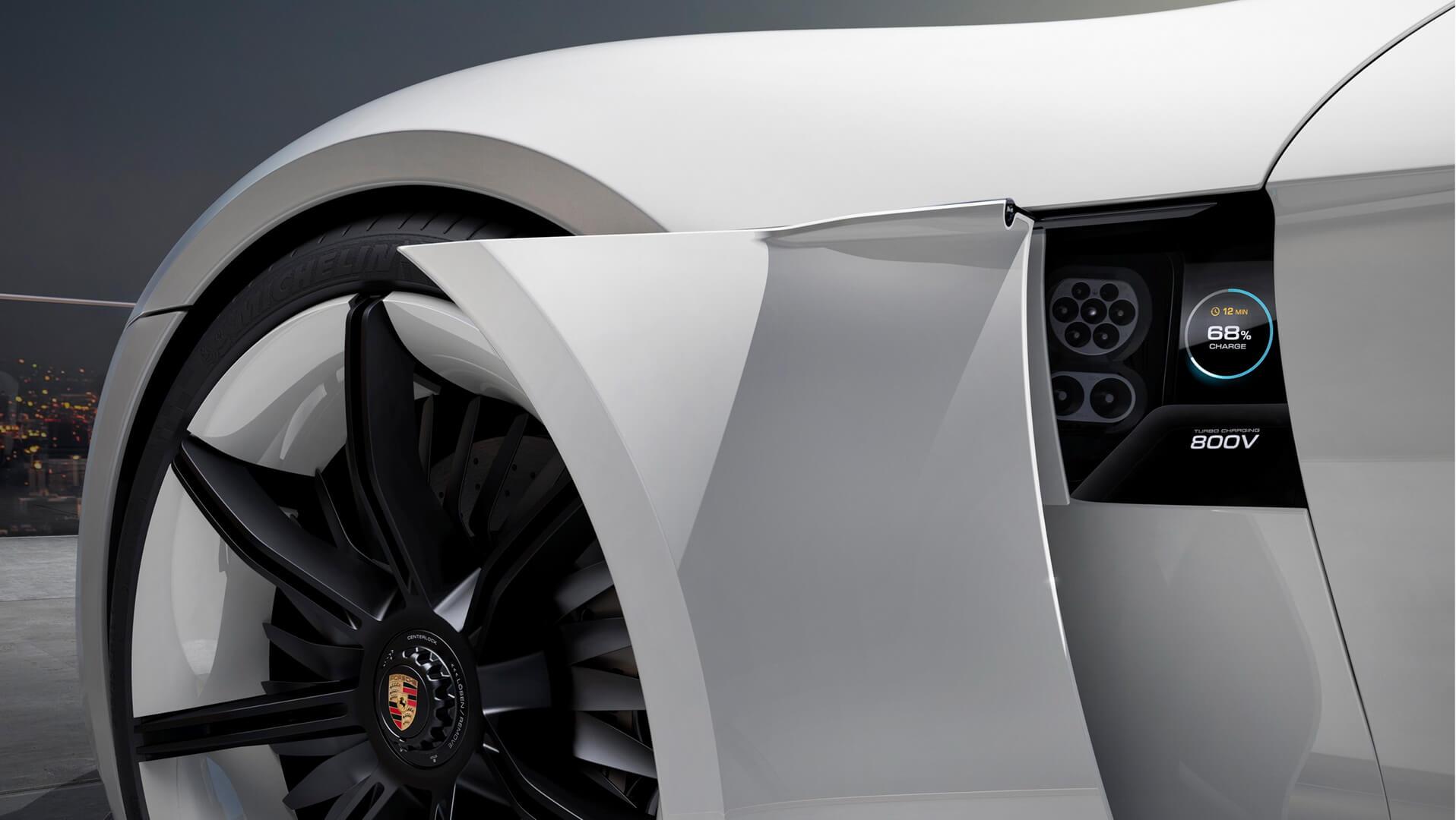 Фотография экоавто Porsche Taycan - фото 20