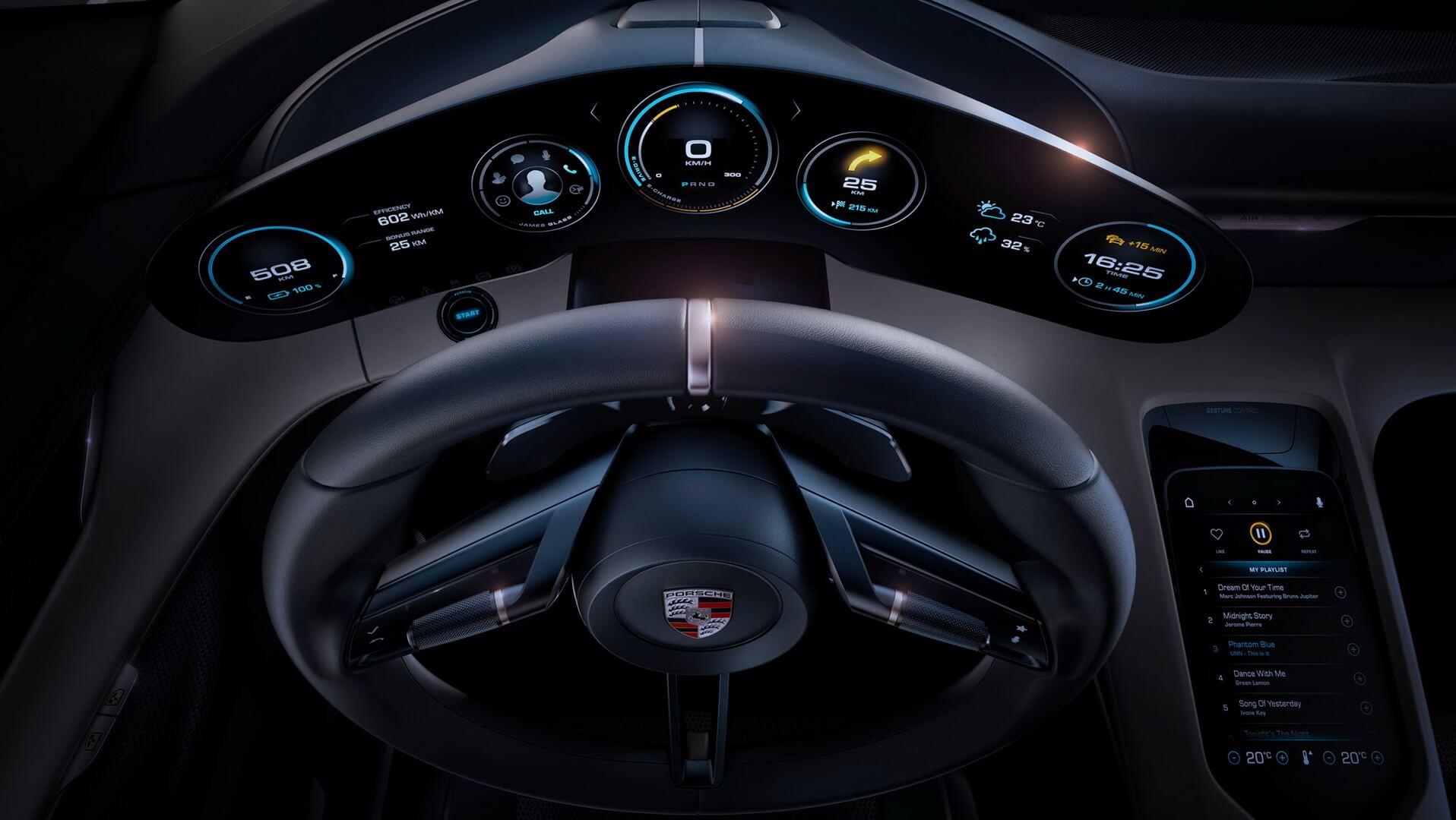 Фотография экоавто Porsche Taycan - фото 15