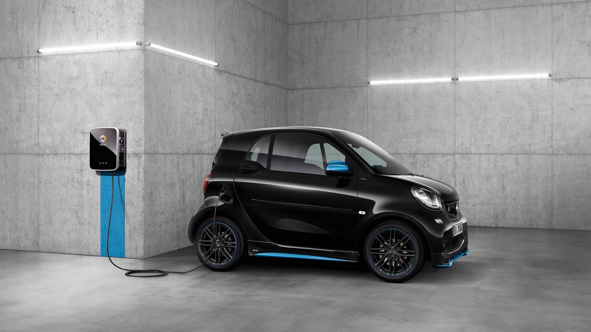 Smart Fortwo Electric Drive второго поколения