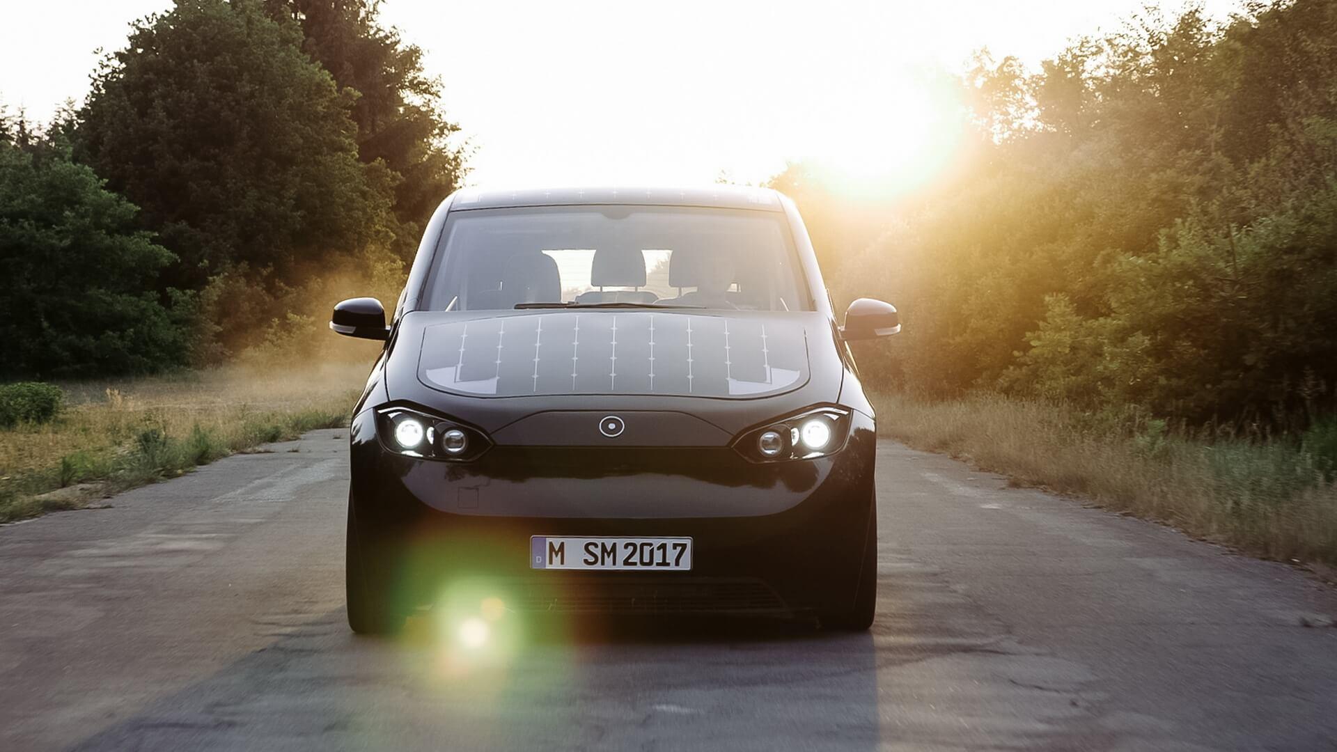 Sion— полностью электрический автомобиль