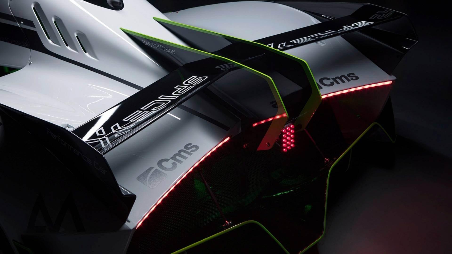 Электрический спорткар Spice-XSX1