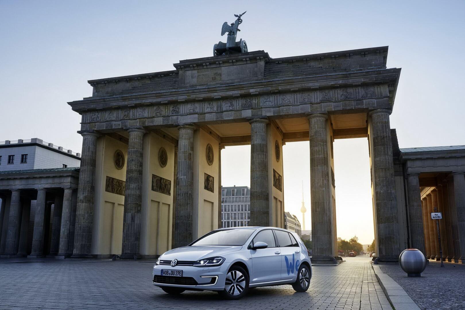 Volkswagen запускает сервис посовместному использованию электромобилей «WeShare»